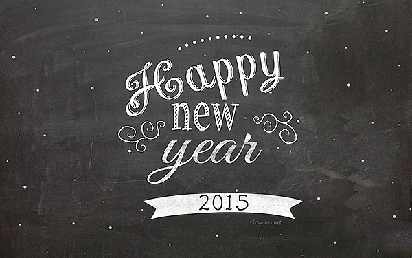 Happy New Year background 2015 by tidymom